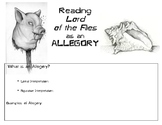 Lord of the Flies Allegory Charts