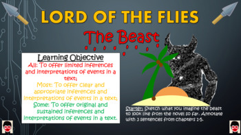 Lord of the Flies Big Bundle! (All lessons, worksheets, plans, everything!)