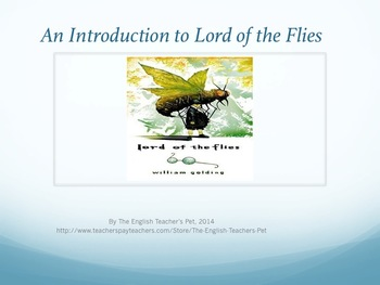 Lord of the Flies Study Guide Questions, PowerPoints, Projects and Jeopardy Unit