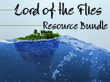 Lord of the Flies Bundle: Blog, Gallery Walk, & Thematic Chart for Analysis
