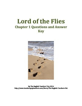 lord of the flies chapter 1 essay questions Studying for each chapter 1 in lord of the flies essay examples for lord of the flies : top ten quotes, hugh edwards, roger elwin suggested essay topics and a full.