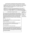 Lord of the Flies Chapter 1 Diction and Device Analysis