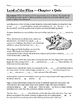 Lord of the Flies Chapter 1 Quiz William Golding