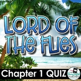 Lord of the Flies Chapter 1 Quiz and Answer Key