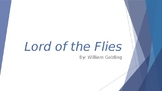 Lord of the Flies Chapter 3: PowerPoint Presentation - Les
