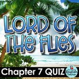 Lord of the Flies Chapter 7 Quiz and Answer Key