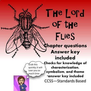 Lord of the Flies: Chapter Questions and Answer Key CCSS