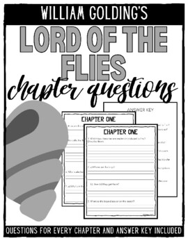 Lord of the Flies Chapter-by-Chapter Questions