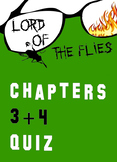 Lord of the Flies Chapters 3-4 Quiz William Golding