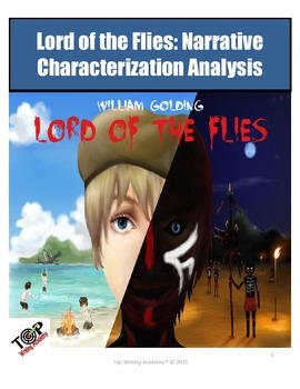 Lord of the Flies Character Analysis Characterization Exercises