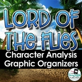 Lord of the Flies Character Analysis Graphic Organizers