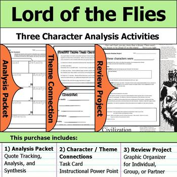 lord of the flies text to text connections
