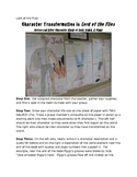 Lord of the Flies Character Development Murals