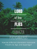 Lord of the Flies Character Psychoanalysis