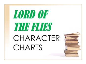 Lord of the Flies Characterization Charts