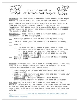Lord of the Flies Children's Story Project