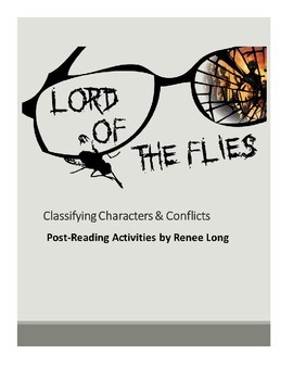 Lord of the Flies:  Classifying Characters & Conflicts