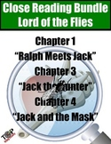 Lord of the Flies Close Reading Bundle 3 Excerpts for Annotation and Analysis