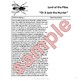 """Lord of the Flies Close Reading Exercise Ch 3-4 """"Jack the Hunter"""""""