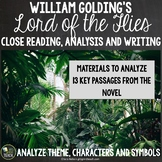 Lord of the Flies Close Reading: Theme, Character and Symbolism