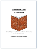Lord of the Flies Complete Literature, Grammar, & Interactive Foldables Unit