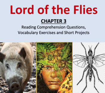 Lord of the Flies Comprehension and Vocabulary, CHAPTER 3, Reading Guide