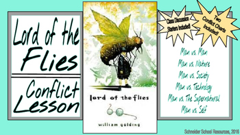 Lord of the Flies Conflict Lesson