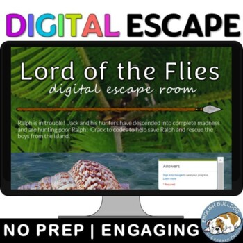 Lord of the Flies Digital Escape Room Game
