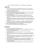 Lord of the Flies Discussion Questions: Chapter 1-2
