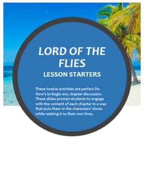 Lord of the Flies Do Nows