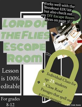 Lord of the Flies Escape Room