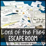 Lord of the Flies Escape Room Review Activity