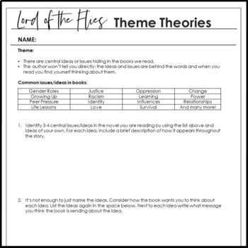 Lord of the flies analysis essay