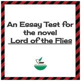 Lord of the Flies Essay Test