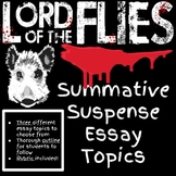 Lord of the Flies Essay Topics