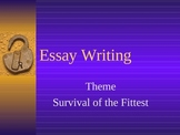 Lord of the Flies Essay Writing Powerpoint