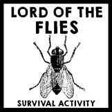 Lord of the Flies - Prereading Survival Scenario Activity