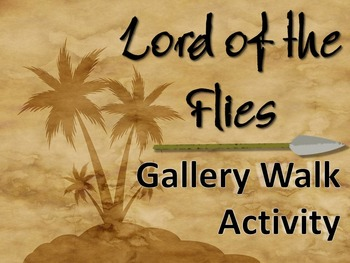 Lord of the Flies Gallery Walk: Writing and Image Analysis Activity
