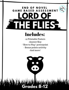 Lord of the Flies Game-Based Novel Assessment