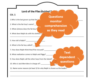 Lord of the Flies Guided Reading Questions