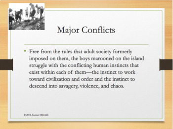 Lord of the Flies Introduction, Plot Summary, Characters, Literary Elements PPT