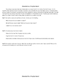 Lord of the Flies- Introductory Group Activity
