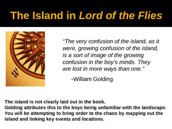 Lord of the Flies Island Map