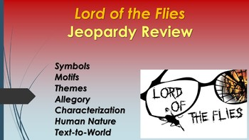 Lord of the Flies Jeopardy Test Review