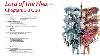 Lord of the Flies Lesson Plan Bundle for Entire Unit (One Month)