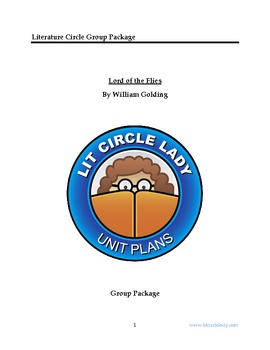 Lord of the Flies - Literature Circle Group Workbook