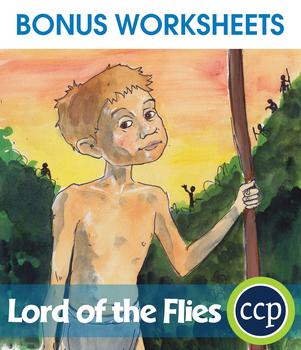 Lord of the Flies - Literature Kit Gr. 9-12 - BONUS WORKSHEETS