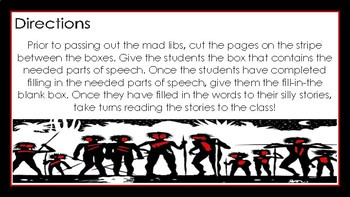 Lord of the Flies Mad Libs: A FUN Twist on a Literary Classic!
