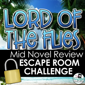 Lord of the Flies Mid Novel Review Escape Room Challenge