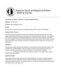 Lord of the Flies Mock Trial Entry Document